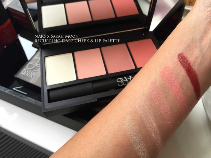 NARS Recurring Dare swatches