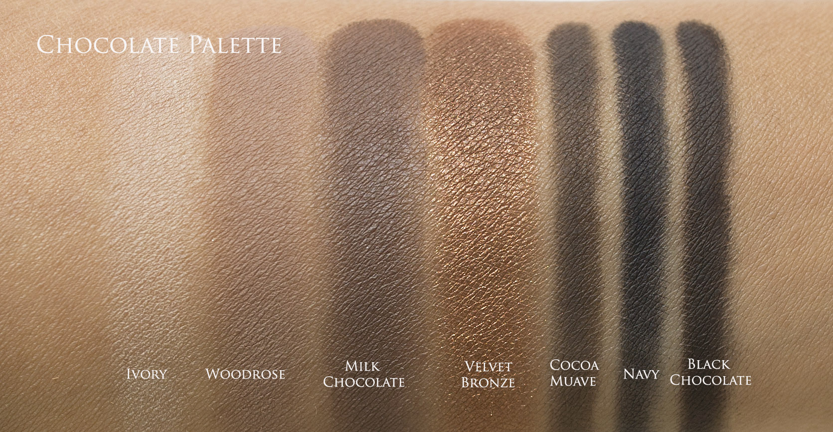 Bobbi Brown Wine Chocolate Collection Review Photos