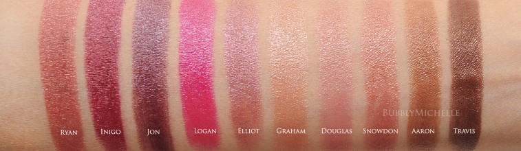 Ultra Light Down Tom Ford Lips & Boys 2016 | Photos & Complete Swatches ...