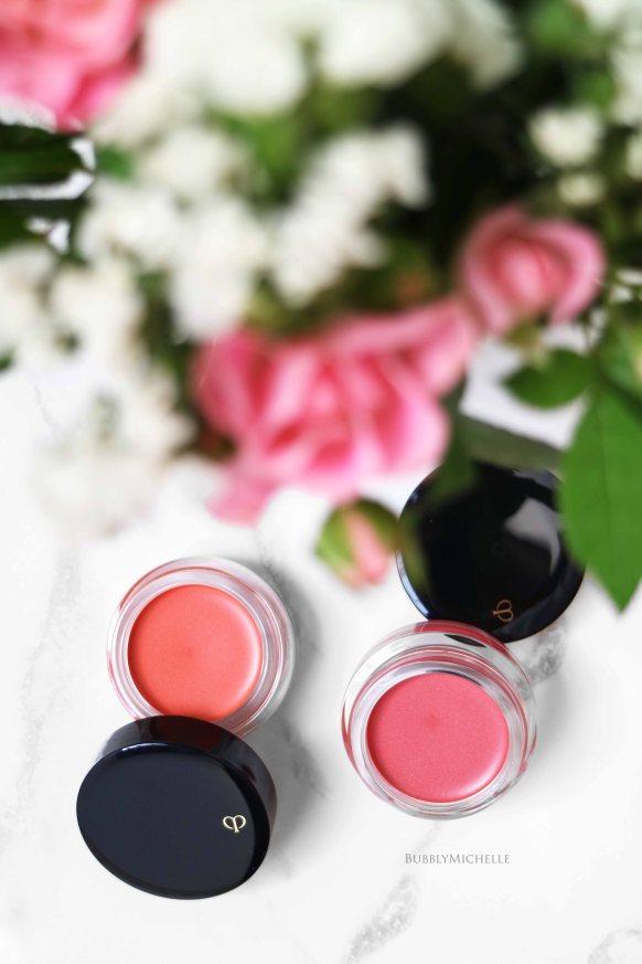 Cle de peau spring 2017 cream blush