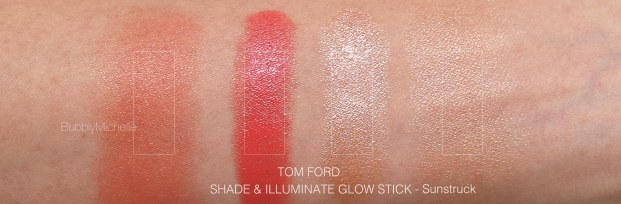 Tom Ford Sun struck swatches