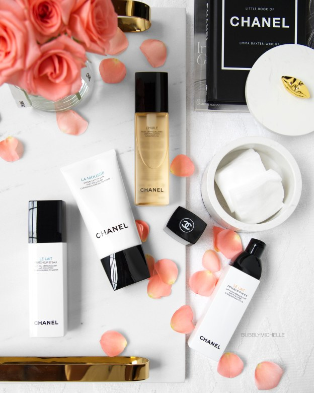 CHANEL cleansers