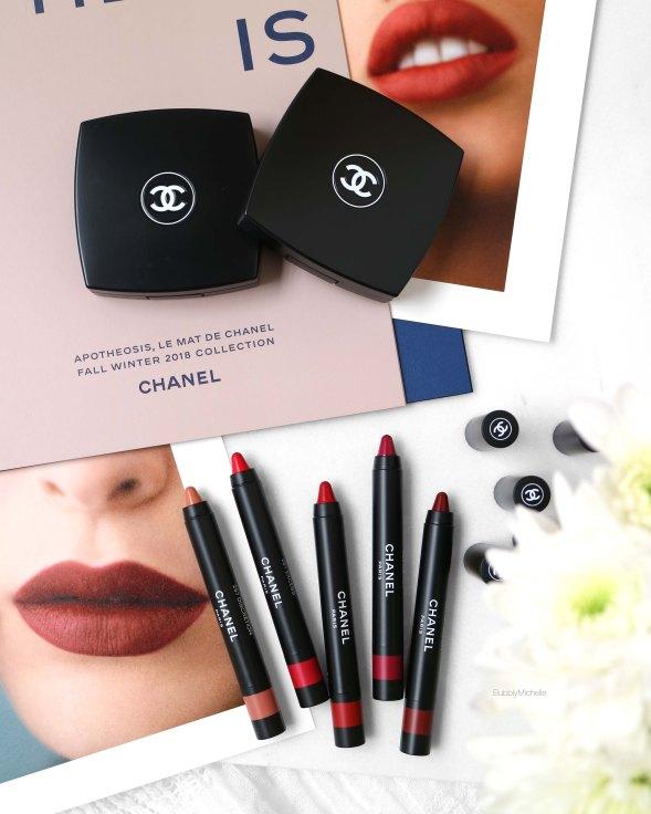 Chanel le rouge crayon mat