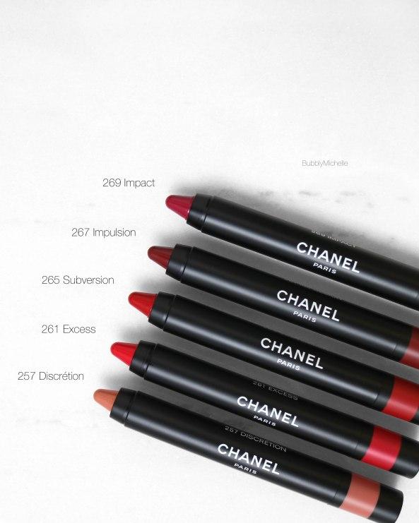 Le rouge crayon matte