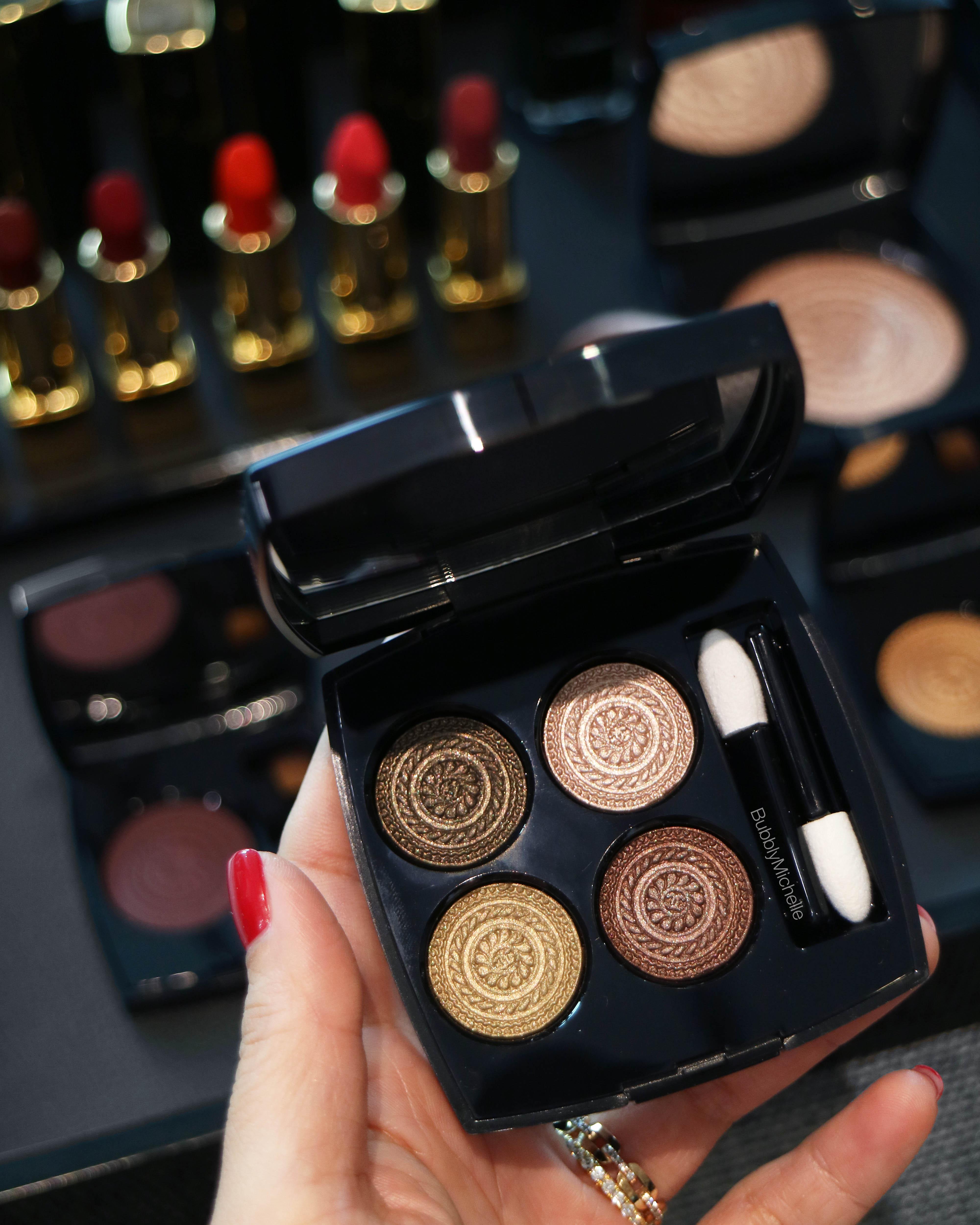 Chanel holiday 2019 makeup