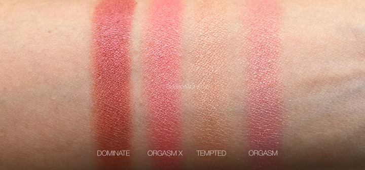 Nars Orgasm X Tempted Dominate