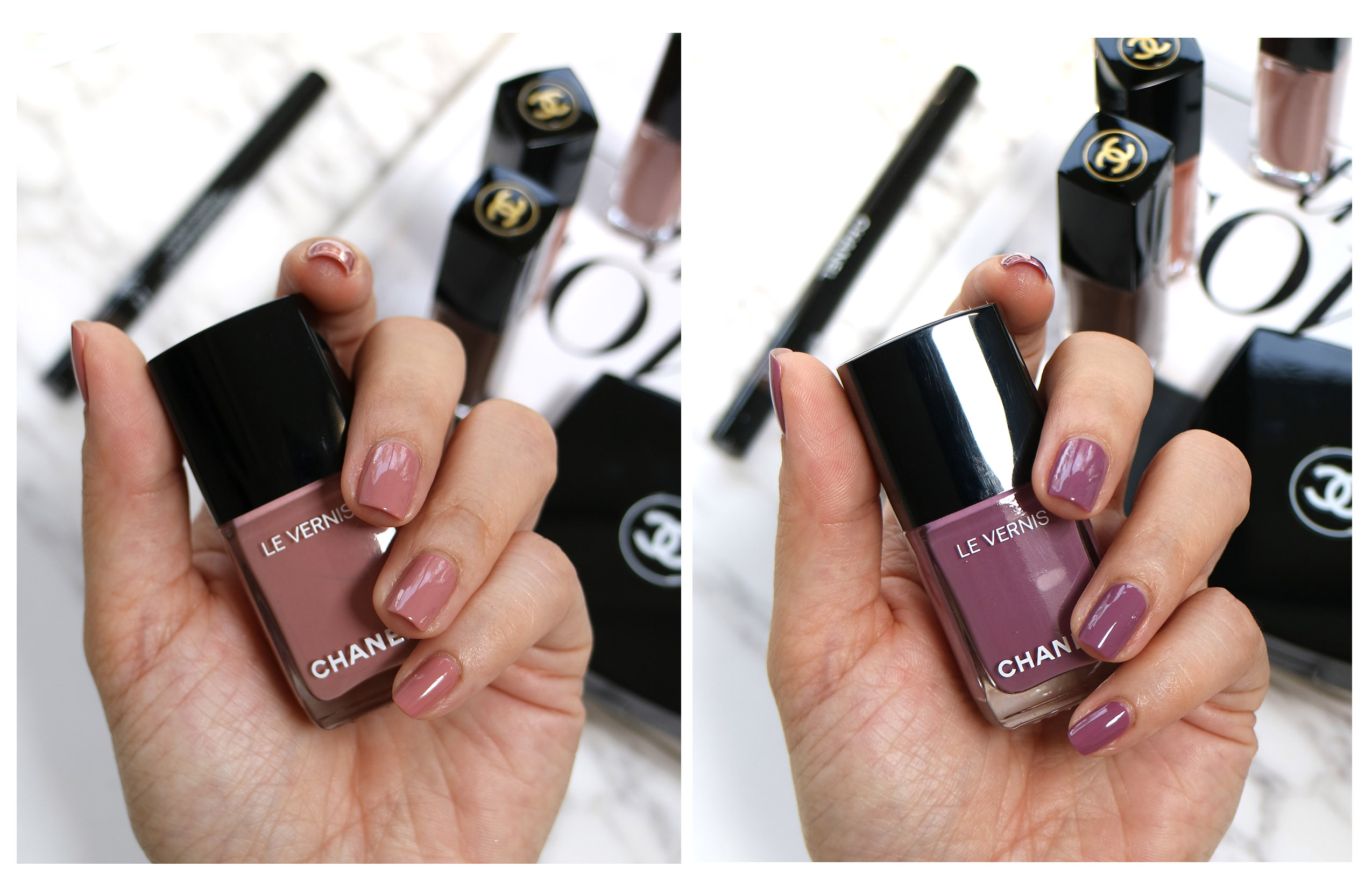 Chanel Spring nail polish day dream