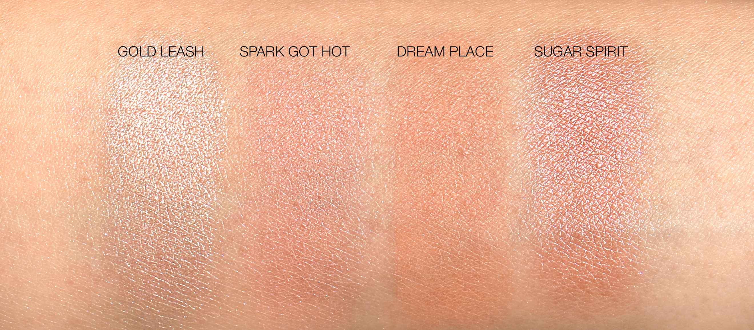 NARS Hot Fix palette swatches